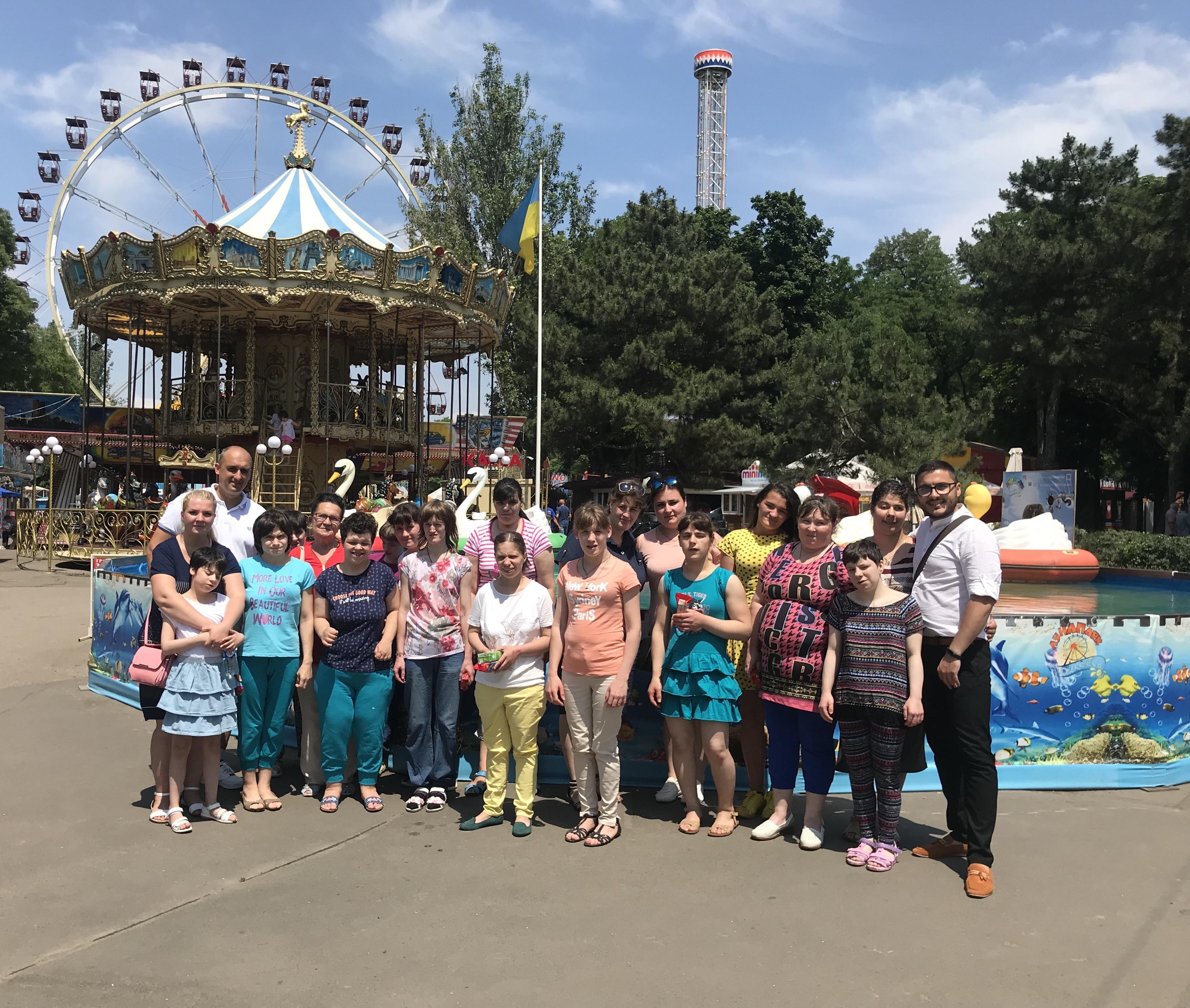 День Защиты детей в Одесском луна-парке