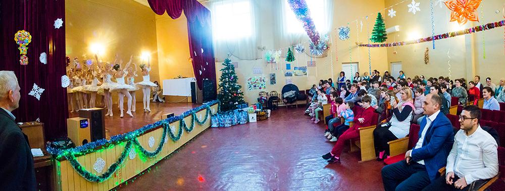 День Святого Николая в Красносельском детском доме-интернат